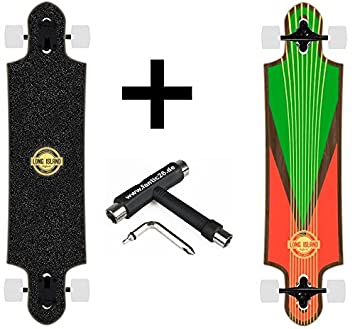 Long Island Bear grizzley ejes (Stam decorado con ruedas + skate Tool): Amazon.es: Deportes y aire libre