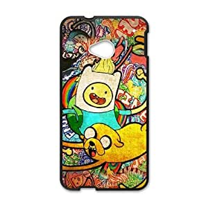 Adventure Time Poster HTC One M7 Cell Phone Case Black Exquisite gift (SA_639579)