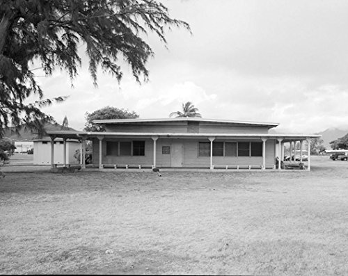 Historic Photo | U.S. Marine Corps Base Hawaii, Kaneohe Bay, Enlisted Men's Mess Hall, Corner of Third & F Streets, Kailua, Honolulu County, HI 2 Photograph 44in x 32in