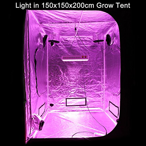 BLOOMSPECT 600W LED Grow Light for Indoor Greenhouse Hydroponic Plants Veg Bloom Switches Daisy Chain by BLOOMSPECT (Image #8)