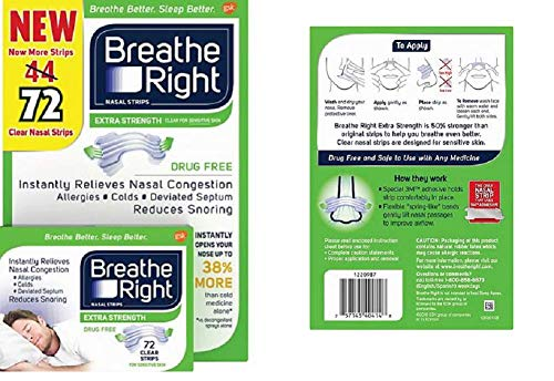 Breathe Right Strength Drug Free Congestion product image