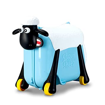 Shaun the Sheep ,PUQU Pull Along Ride On Suitcase Hand Luggage for ...