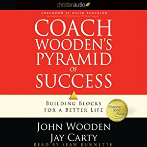 Coach Wooden's Pyramid of Success Hörbuch