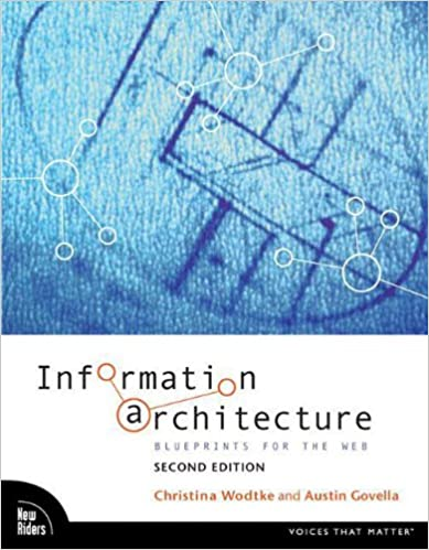 Information architecture blueprints for the web 2nd edition information architecture blueprints for the web 2nd edition christina wodtke austin govella 9780321600806 amazon books malvernweather