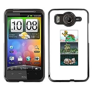 CASEMAX Slim Hard Case Cover Armor Shell FOR HTC G10- JAPANESE POKE COMIC
