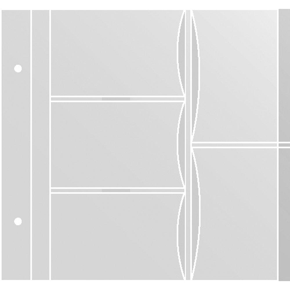 CRG 4 X 6 Pocket Refill Sheets for Post Bound Photo Album (K85)