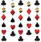 Casino Hanging String Decorations Pk6
