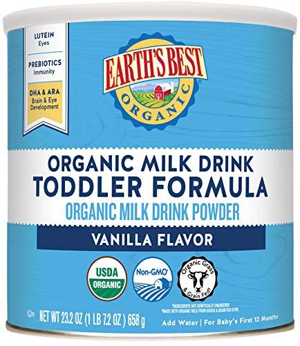 Earth's Best Organic Toddler Milk Drink Powder ,23.2 Ounce -