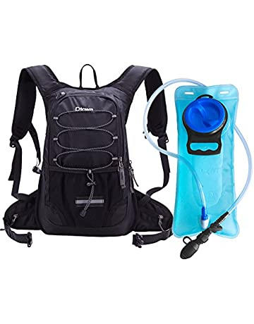 78e9033ff1 Dtown Hydration Pack Backpack Hiking Biking Running 2L Water Bladder Keeps  Liquid Cool up to 4