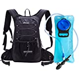 Dtown Hydration Pack Backpack Hiking Biking Running 2L Water Bladder Keeps Liquid Cool up to 4 Hours