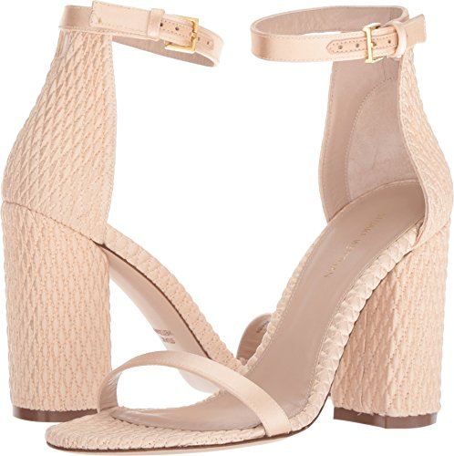 sale brand new unisex Stuart Weitzman Women's Nuquilt Heeled Sandal Blush Silk Satin discount lowest price browse cheap online buy cheap low price pay with paypal cheap online bNh1YiP4