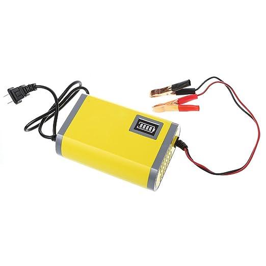 yinuneronsty - Cargador de batería automático para Moto de Coche ...