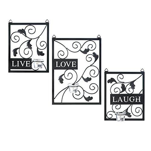 Amazon.com: Live, Love, Laugh Wall Decor: Home u0026 Kitchen