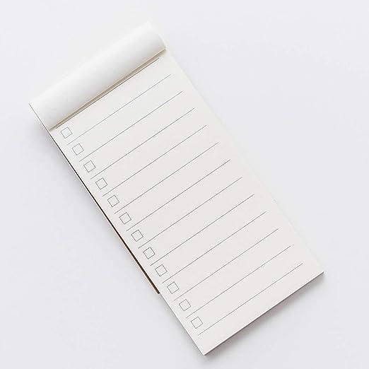 Szdc88 Cuaderno Bloc Notas Regalo Papel Kraft Portátil To Do ...