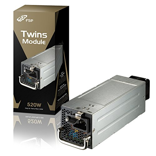 FSP Twins Replacement Module 520W Power Supply (for Twins 500W PSU) (FSP520-20RGGBB1)