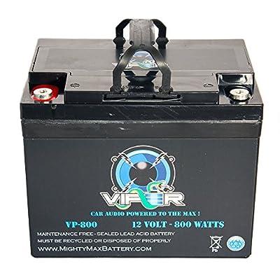 Viper VP-800 12V 800 Watt Replacement Battery for Kinetik HC800
