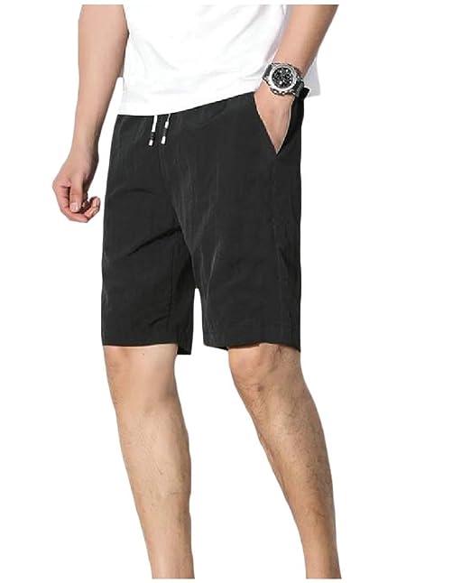 Fieer - Pantalones de chándal para Hombre - Negro - XXX-Large (XX ...
