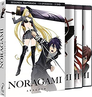 Noragami Aragoto Temproada 2 Episodios 1 A 13. [DVD]