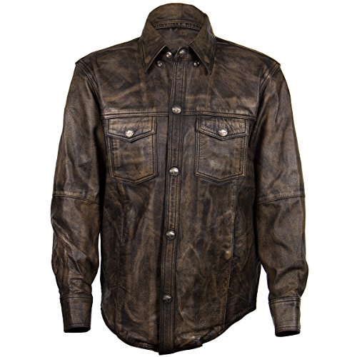 Leather Riding Shirt - 3