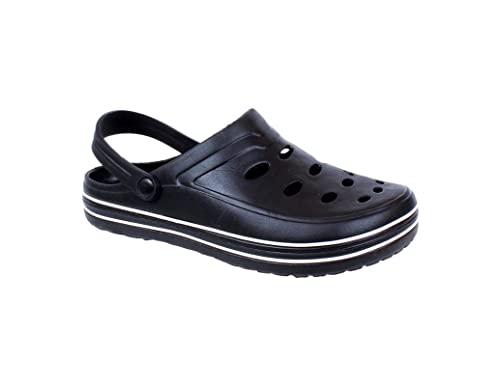 56eb14551565f6 KAYSTAR Croc Sandals for Men s and Boys Black Casual Slipper