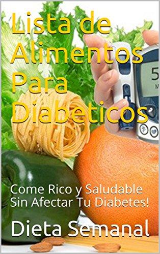dieta semanal para diabetes