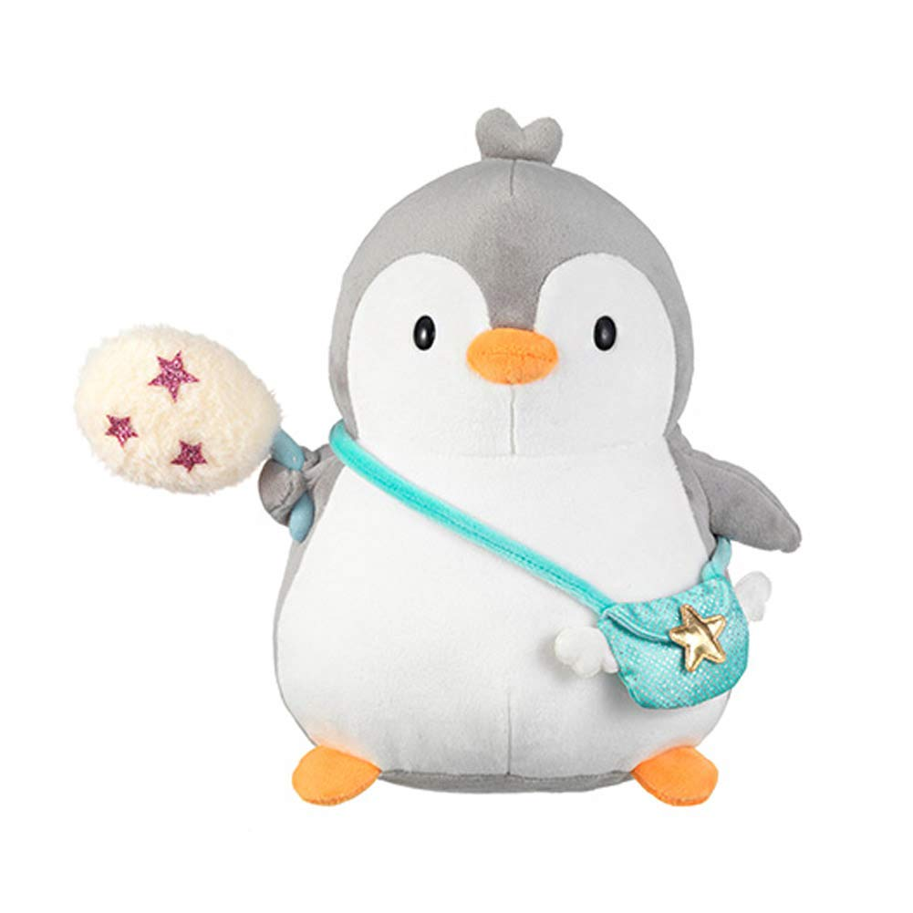 Seayoung Toy Safari Friends Penguin Stuffed Animal Plush for Kids Boys Girls Gray 9'' by Seayoung Toy