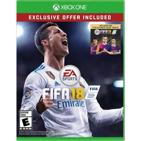 Fifa 18 Limited Edition (Xbox One) - Exclusive Offer ( 500 Ultimate Team Points included ) (Xbox One Cd)