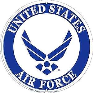 Amazon.com: U.S. Air Force logo sign Ronda 12