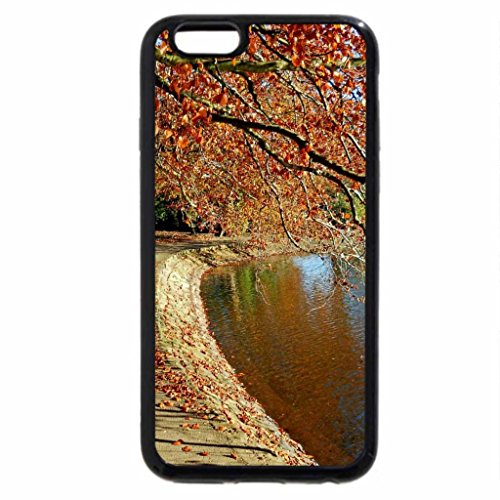 iPhone 6S / iPhone 6 Case (Black) Lovely Lake and Landscape