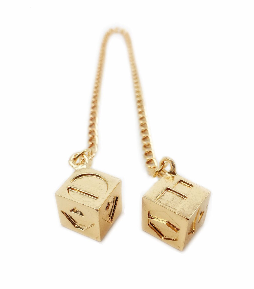 Men's Lucky DICE Costumes Charms Jewelry for HAN Solo Cosplay