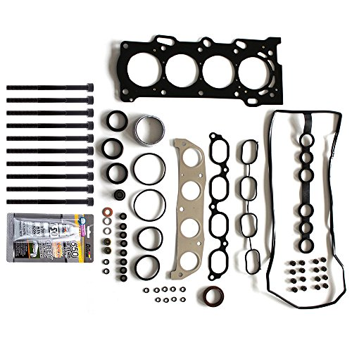 Replacement Toyota Gaskets - SCITOO Replacement Head Gasket Bolts Kits Chevrolet Prizm Pontiac Vibe Toyota Corolla 1.8L 1998-2008 Engine Cylinder Head Gaskets Set Kit