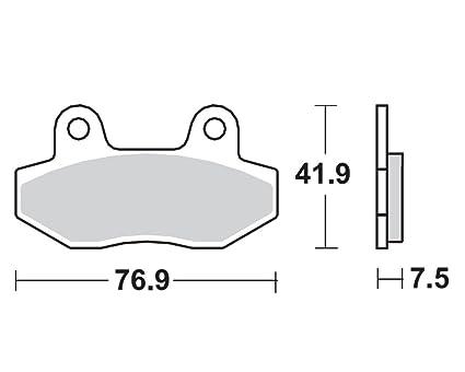 Sinter Bremsbeläge Suzuki GSF 600 Bandit GN77B Bj 94-99 Vorn