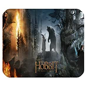 The Hobbit Customized Standard Rectangle Mouse Pad Mouse Mat (Black)