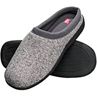 Hanes Men's Memory Foam Indoor/Outdoor Clog Slipper Shoe with Fresh IQ