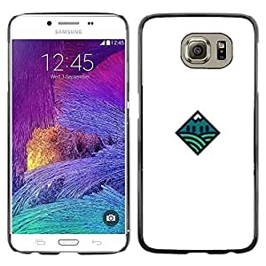 Paccase / SLIM PC / Aliminium Casa Carcasa Funda Case Cover para - Diamond inside - Samsung Galaxy S6 SM-G920