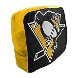 Northwest NHL Pittsburgh Penguins Cloud Logo Pillow, One Size, Multicolor