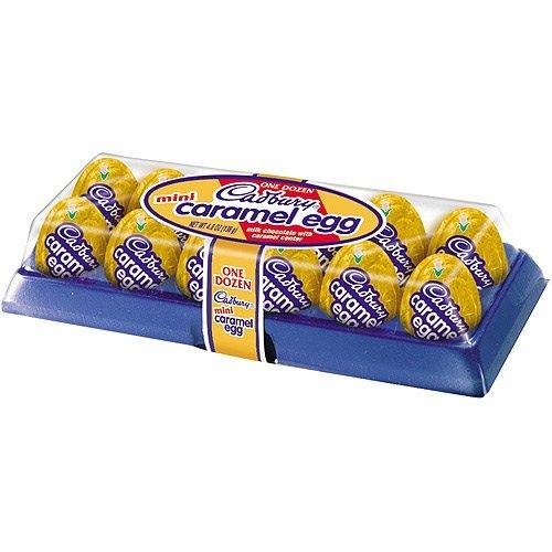 Cadbury Mini Caramel 12 Count 4 8 Ounce