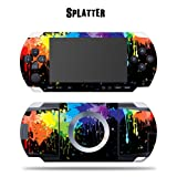 MightySkins Protective Vinyl Skin Decal Cover Sticker for SONY PSP - Splatter