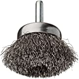 """Crimped Wire Cup Wire Brush,  Stem,  1-3/4"""""""