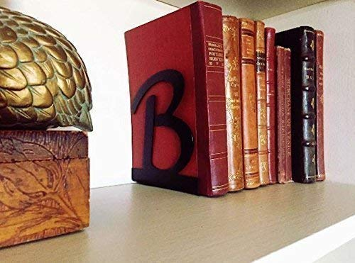 Monogram Bookends (Set of 2) - 1/16