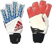 adidas ACE Trans Ultimate Soccer Goalkeeper Gloves (White, Blue Red, Black)