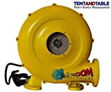 780-Watt, 1HP Compact and Energy Efficient Zoom Commercial Air Blower for Small Inflatables and Bounce Houses