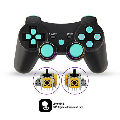 2pcs-Pack-Wireless-Double-Vibration-Controller-for-PS3-Bluetooth-Sixaxis-Gamepad-Remote-for-Sony-Playstation-3