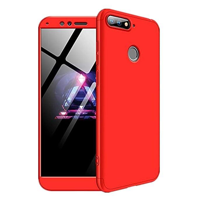 big sale 2b63b 460a5 Amazon.com: Huawei Y6 Prime 2018/Huawei Y7 Prime 2018 Case, Slim Fit ...