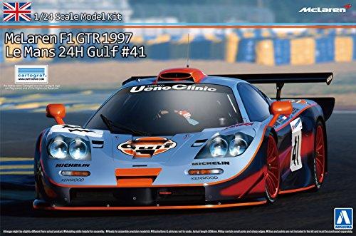 ■[取寄](1/24) スーパーカーシリーズ [No.19] マクラーレン F1 GTR 1997 ルマン24時間 ガルフ #41 (海外版パッケージ) (アオシマ/青島)の商品画像