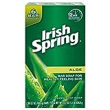 Irish Spring Aloe Vera Bar Soap – 6 count (12 Pack)