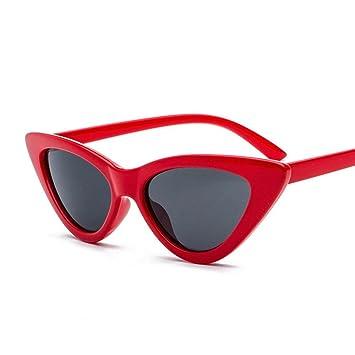 PAWACA ojo de gato gafas de sol de moda para hombres y ...