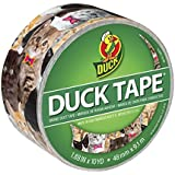 "Duck 241704 1.88"" x 10 yd Single Roll Printed Duct Tape"
