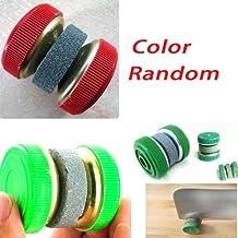 Practical Knife Sharpener/Sharpening/Grinder Stones of Wheel Shape-Color random