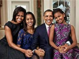 Hello Africa #1 Official Portrait Obama Family Laminated Poster 2011 on Quality Photo Paper Ready to Frame First Family Print 18 X 12